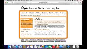 Purdue Owl Screencast