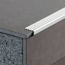 stainless steel edge trim for tiles outside corner stair nosing eurostep 215s