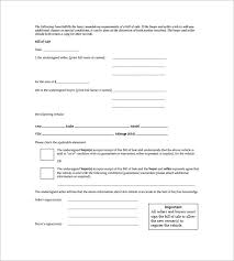 free bill of sale form for car car bill of sale 10 free sample example format download free