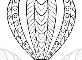 coloring pages balloon coloring page pages image hot air sheets for s