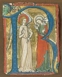 monasticism in western medieval europe essay heilbrunn manuscript illumination the annunciation in an initial r from a gradual