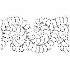 Quilt Stencil Feather Border - Quilting Creations — Missouri Star ... & Quilt Stencil Feather Border Adamdwight.com