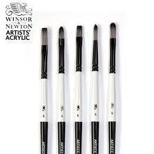 Winsor Newton Artists Acrylic Brush Set