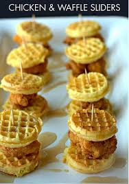 best 25 southern wedding food ideas on pinterest cheap wedding Wedding Hunters Food Network turn a southern favorite into a bite sized treat with this chicken & waffle sliders Hunter Foods Anaheim CA