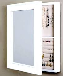 Wall Mirror Jewelry Cabinet Mount Boxes Hung Box  Mounted  Wall Mounted Jewelry Cabinet7