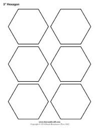 Free Hexagon Template, english pp | quillten | Pinterest ... & Free Hexagon Template, english pp Adamdwight.com