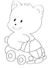 Coloriage Pour Enfant Nounours