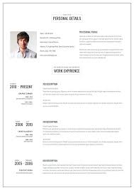 Online Resume Maker Awesome Resume Maker Template The Best Online Resume Template Ideas On