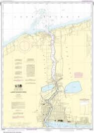Oceangrafix Noaa Nautical Chart 14816 Lower Niagara River