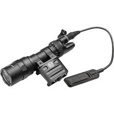 Surefire M312 Scout Weaponlight With Remote Switch And Off Set Mount Black