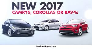 Bev Smith Toyota - New 2017 Toyota Camry, Corolla, or Rav-4 with 0 ...