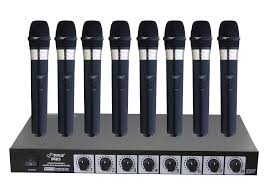 sound system with mic. pyle - pdwm8400 , musical instruments microphone systems sound and recording system with mic