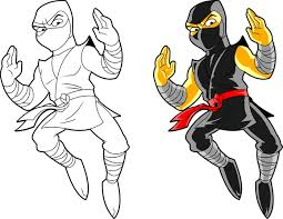 ninja clipart black and white. Simple And Clip Art Hoard We Are Ninja To Ninja Clipart Black And White Library