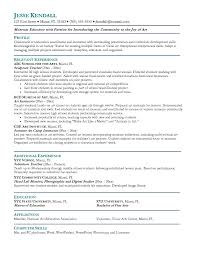 Community College Instructor Resume Examples Best Of Resume