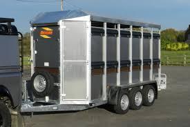 warrior trailers bateson livestock trailers eurostock 336l tri axle livestock trailer