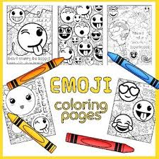 Here you can explore hq emoji transparent illustrations, icons and clipart with filter setting like size, type, color etc. Emoji Coloring Pages With Growth Mindset Sayings By Art Is Basic
