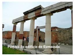 Resultado de imagem para Eumaquia de pompeia