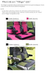 a rear facing seat then it is a four passenger cart and you will need to order 2 sets of seats one set for the front and one set for the back