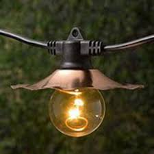 decorative string lighting. decorative string lights with copper shades bulbs not included lighting y