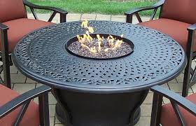 modern outdoor ideas um size charleston aluminum gas fire pit table and chairs department super sofa round