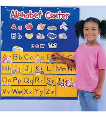 Learning Center Pocket Chart Alphabet Center Pocket Chart Learning Resources Stemfinity