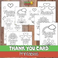Insert a photo, change font styles or colors, or add stickers from the stickers menu. Thank You Cards Free Printable 52kindweeks Kiddycharts