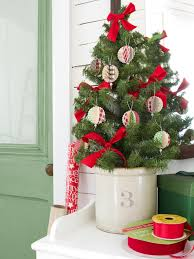 Paper Christmas Tree Ornaments Card Stock Christmas Ornaments Hgtv
