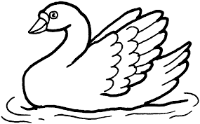 Small Picture Free Swan Coloring Pages Coloring Home
