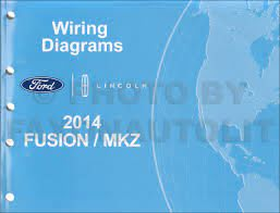 2012 Ford Fusion Lincoln Mkz Hybrid Wiring Diagram Shop Service ...