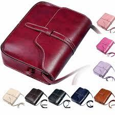 #25Fashion Simple <b>Vintage Purse Bag Women's Designer Handbag</b> ...