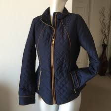 H&M - Quilted jacket with gold zipper detail from Suzy 🌟suggested ... & Quilted jacket with gold zipper detail Adamdwight.com