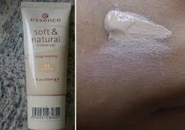 essence soft natural make up long lasting nuance 02 sand beige testbericht von pinkboxer pinkmelon