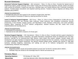 Stylish Remote Support Engineer Sample Resume Fetching Download