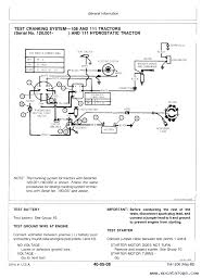 wiring diagram of john deere 111 the wiring diagram john deere 108 111 111Н 112l 116 lawn Тractors technical manual wiring diagram