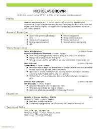 Architecture Resume Examples Lovely Architecture Resume Examples
