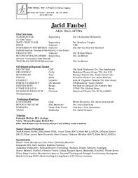 Acting Resume Special Skills Examples Sample Admission Letter