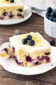 Lemon Blueberry Cake Just So Tasty
