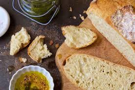 No Knead Crusty White Bread