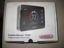lennox wall thermostat. lennox comfortsense 7500 programmable thermostat. lennox wall thermostat