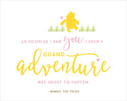 Winnie The Pooh Baby Shower Printables Quotes Pink Yellow Interesting Baby Shower Quotes