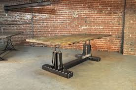 recycled industrial furniture. Galvanized Pipe Desk Popular Awesome Dining Tables Salvaged Industrial  Table Legs In 29 Recycled Industrial Furniture