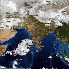 Image result for bangalore weather satellite