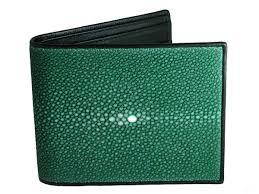 stingray wallet green