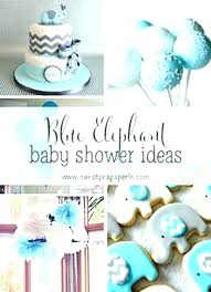 baby shower decoration boy blue and gray elephant baby shower decorations baby shower decoration boy planning
