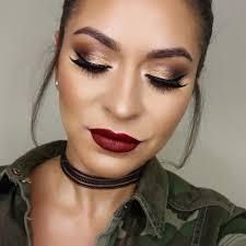 fall glam makeup