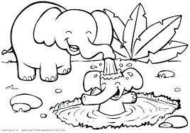 Animal Coloring Pictures Cute Baby Page Free Australian Colouring