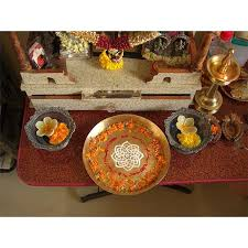 decorations for an indian pooja