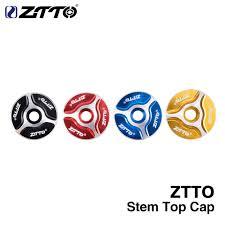 2019 <b>ZTTO MTB Bicycle Headset</b> Stem Fork Top Cap 1 1/8 ...