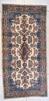 7684 laver kerman antique persian rug 5 9 x 12 0