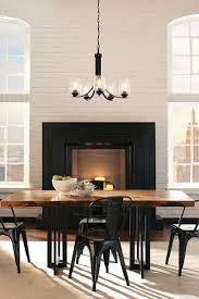 lighting over dining room table. Morill 5- Light Chandelier By Sea Gull Lighting: Combines Retro And Industrial Trends To. Dining Room LightingDining TablesRetro Lighting Over Table